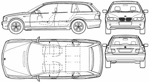 BMW 3 Series Touring E46:picture # 9 , reviews, news