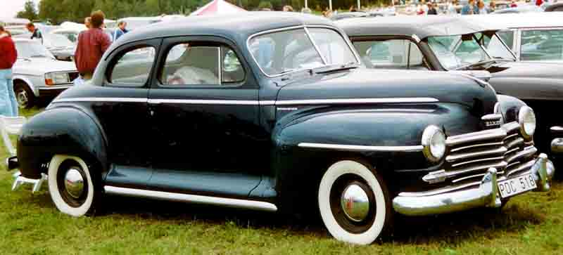 Plymouth P6 De Luxe business coupe