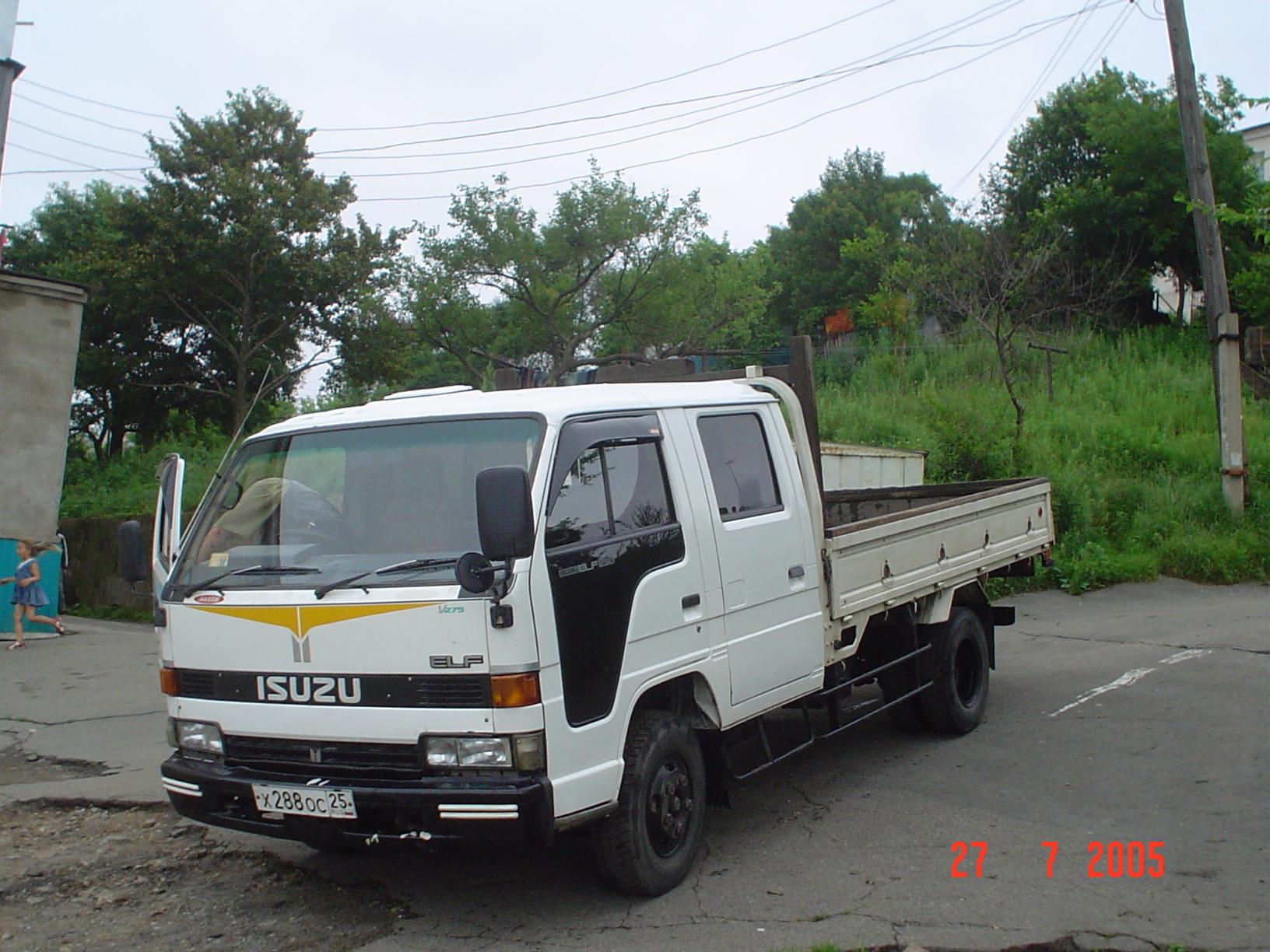 Isuzu elf picture 15 reviews news specs buy car for Via motors truck price