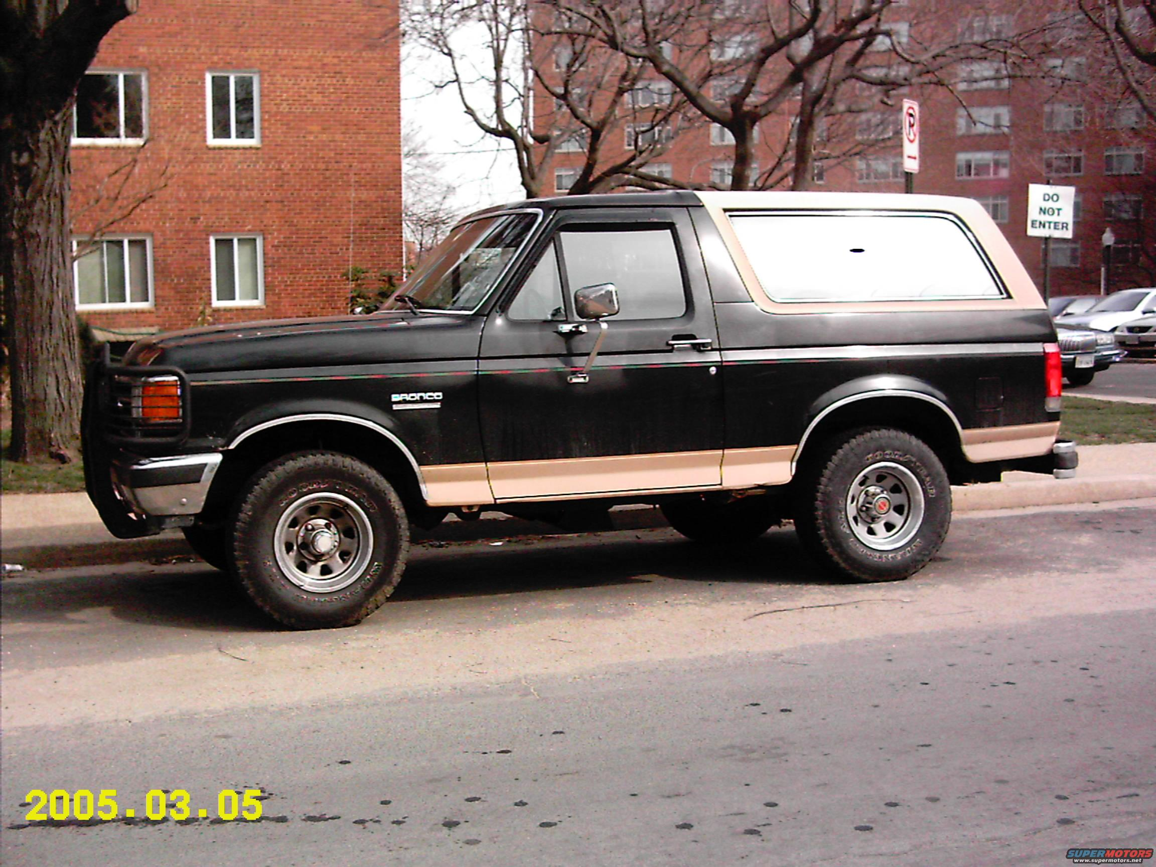 Ford Bronco Eddie Bauer Edition Photos Reviews News