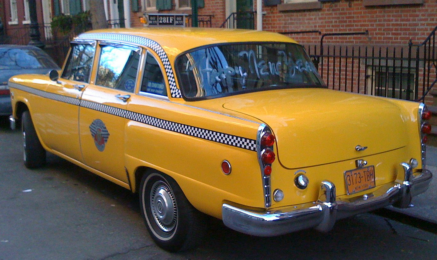 Checker taxi cab picture 6 reviews news specs buy car - Order a cab ...