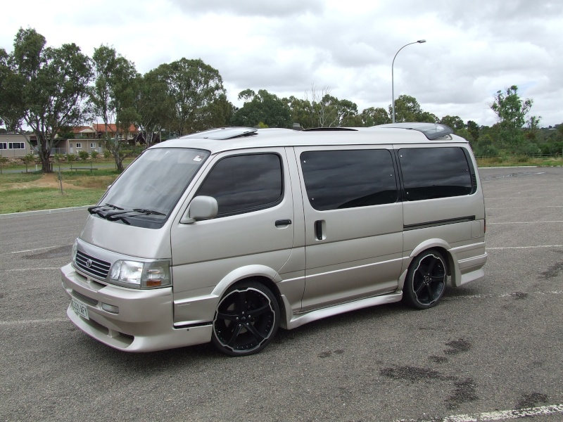 Toyota Hiace Super Custom Photos Reviews News Specs