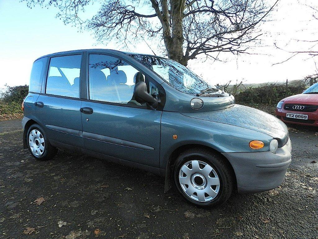 Fiat Multipla Jtd Picture   10   Reviews  News  Specs  Buy Car