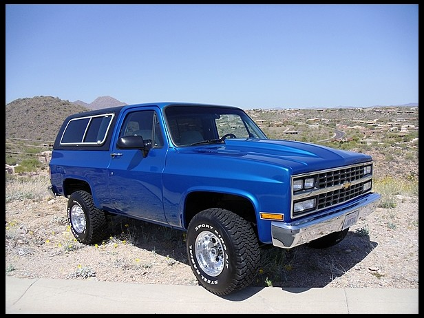 Chevrolet K Blazer Ci Automatic For Sale By Mecum Auction A