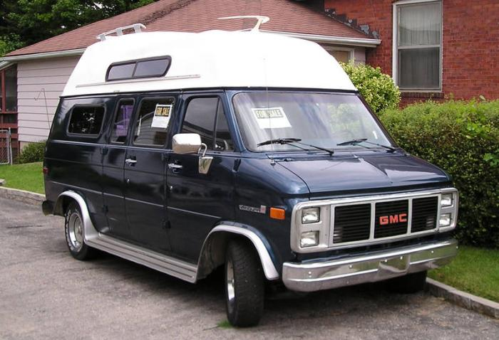 GMC Camper Van photos.