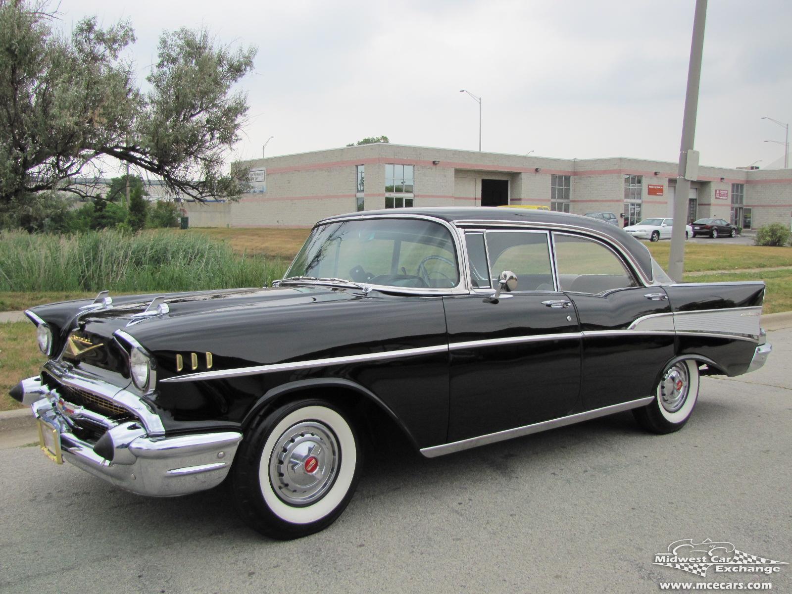 Chevrolet bel air 4 door hardtop photos reviews news for 1957 chevy bel air 4 door hardtop for sale