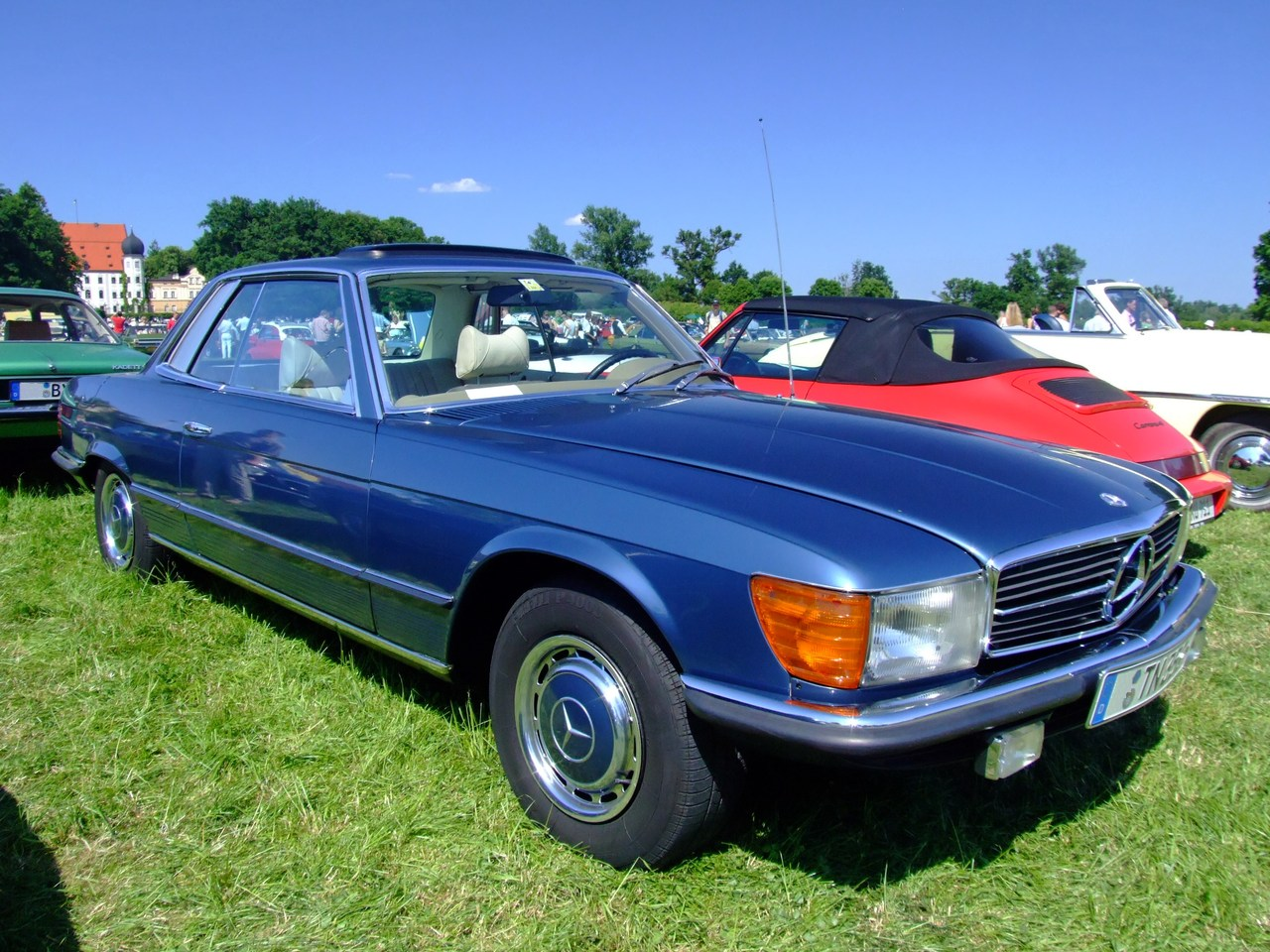 Mercedes benz 350 slc photos reviews news specs buy car for Mercedes benz 350 slc