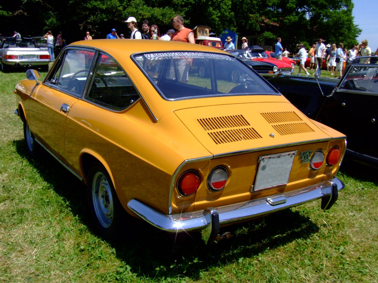 Fiat 850 Sport Coupe Picture 6 Reviews News Specs Buy Car