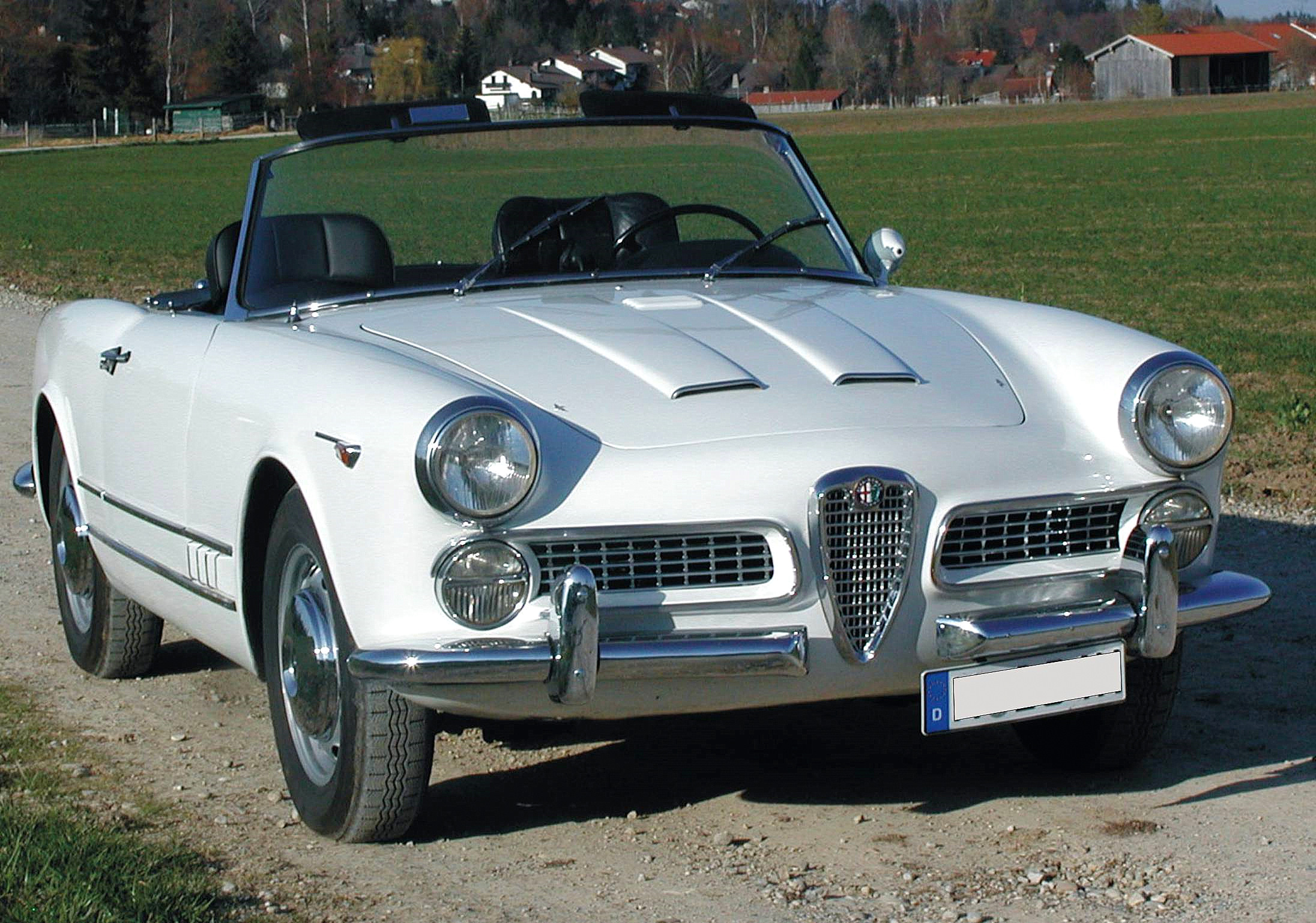 Alfa Romeo 2000 Touring Spider · Cool CarsSports CarsVintage ...