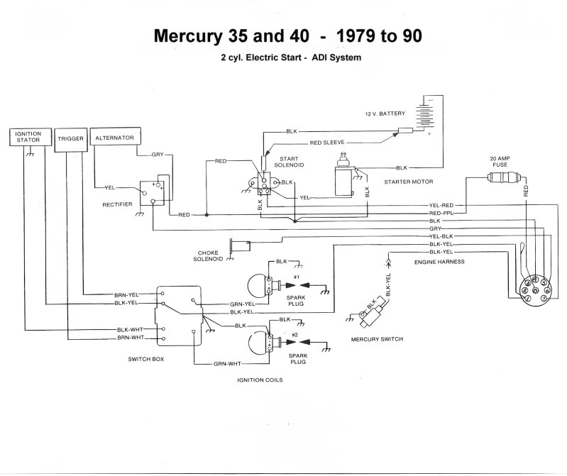 mercury 40 hp force outboard wiring mercury 35 picture 12   reviews  news  specs  buy car  mercury 35 picture 12   reviews  news