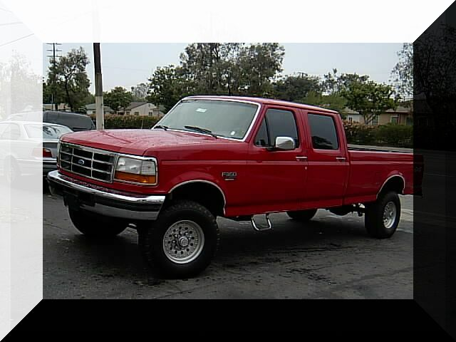 Ford F-250 XLT Super Duty Crew 4x4