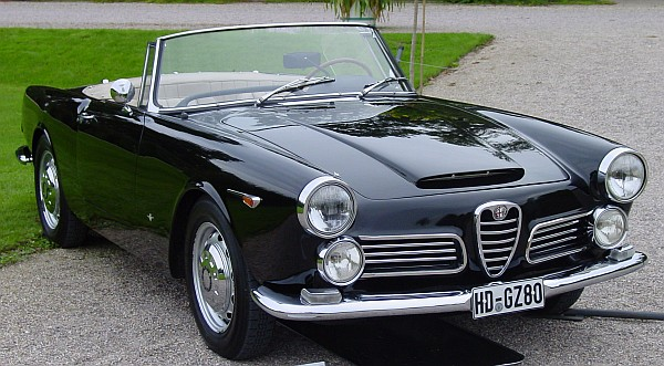 alfa romeo touring spider 2600:picture # 5 , reviews, news, specs