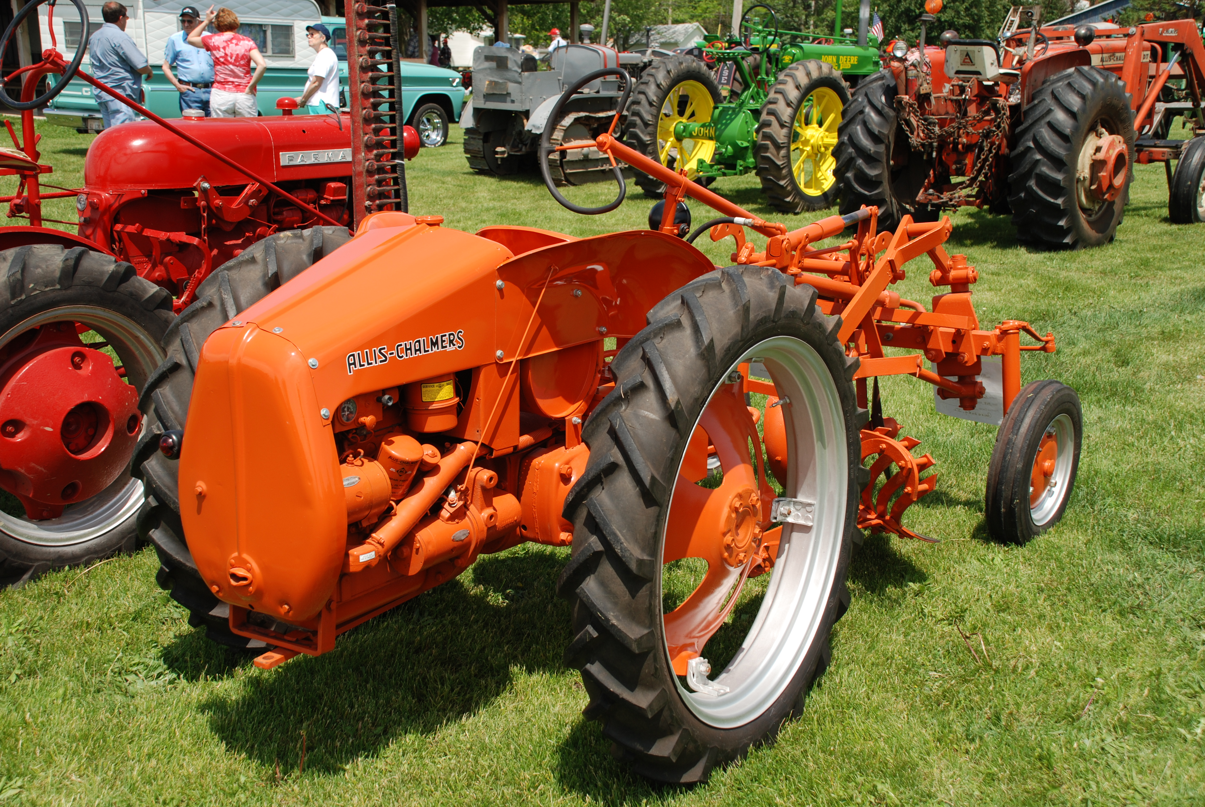 allis chalmers model g picture 4 reviews news specs buy car. Black Bedroom Furniture Sets. Home Design Ideas