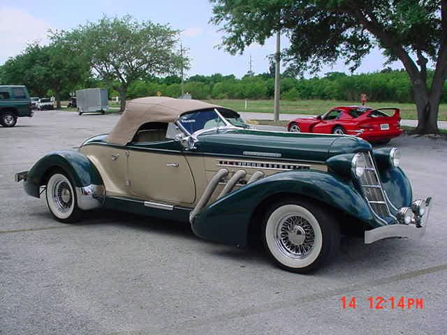 Auburn 1936 Boattail Speedster Replica Photos Reviews
