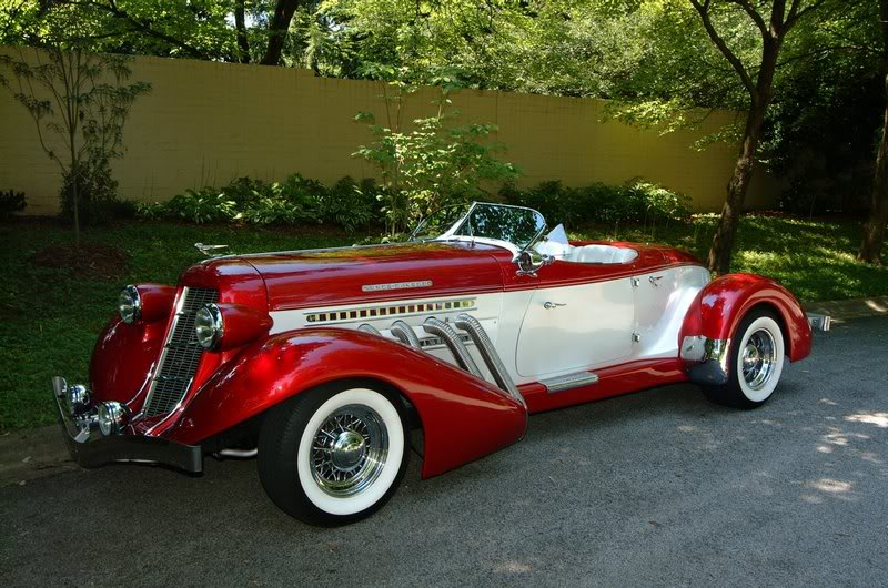 Auburn 1936 Boattail Speedster Replica Picture 1