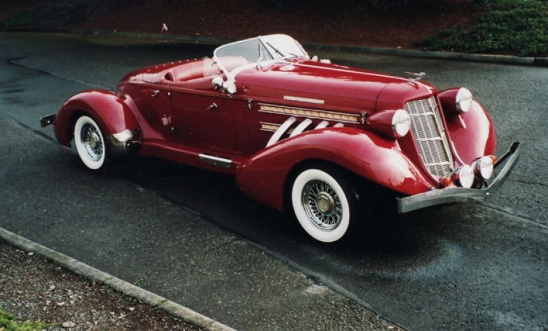 Auburn Boat Tail Speedster Replica Picture 3 Reviews News