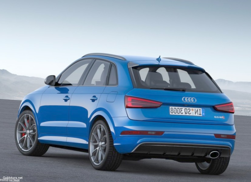Audi RS Q3 performance 2017