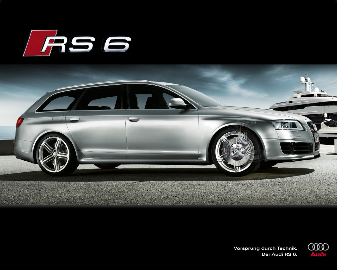 audi rs 6 avant photos news reviews specs car listings. Black Bedroom Furniture Sets. Home Design Ideas