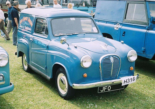 austin a35 panel van photos reviews news specs buy car. Black Bedroom Furniture Sets. Home Design Ideas
