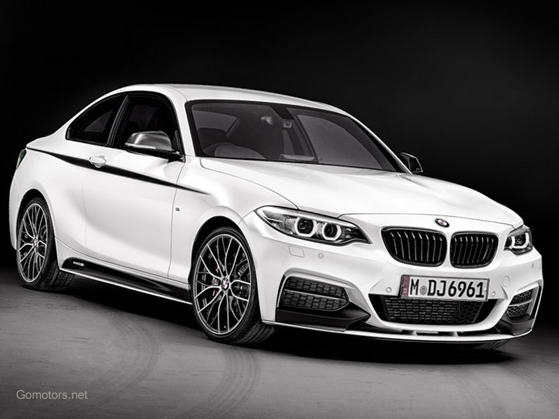 BMW 2-Series Coupe with M Performance Parts: Photos ...