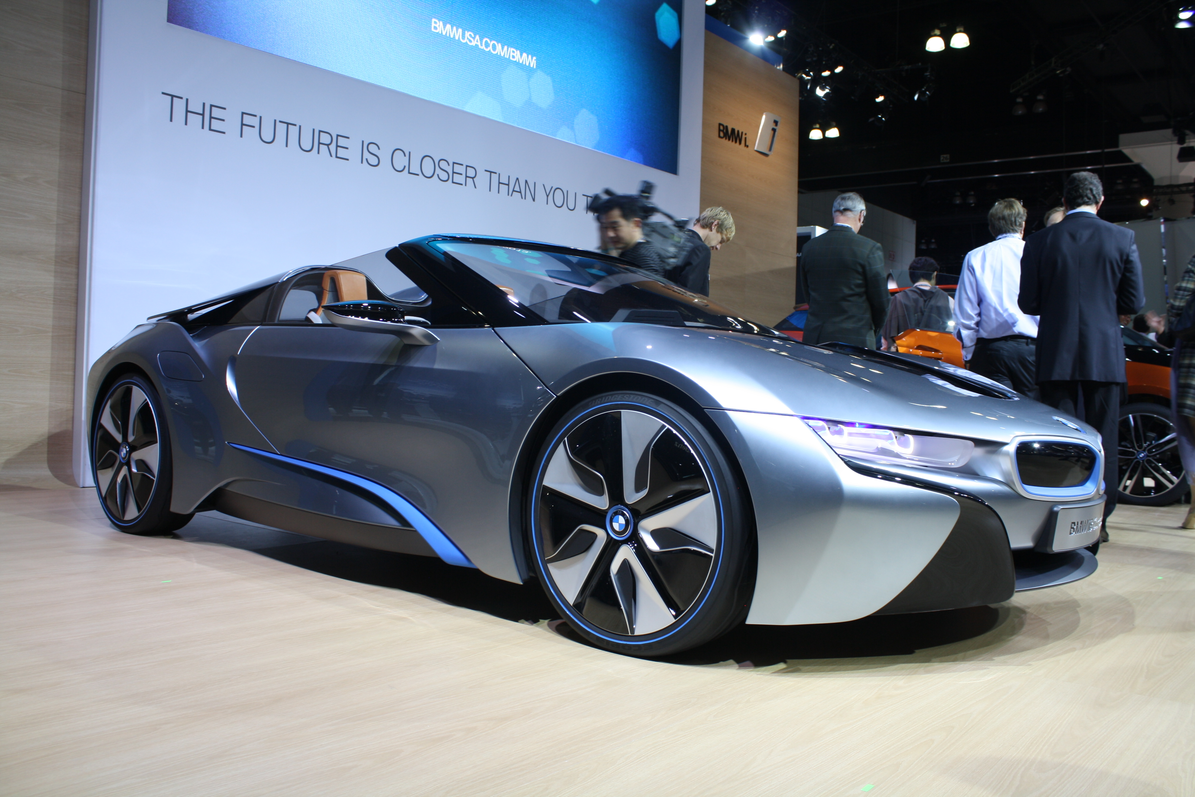 Bmw I8 Roadster Picture 13 Reviews News Specs Buy Car