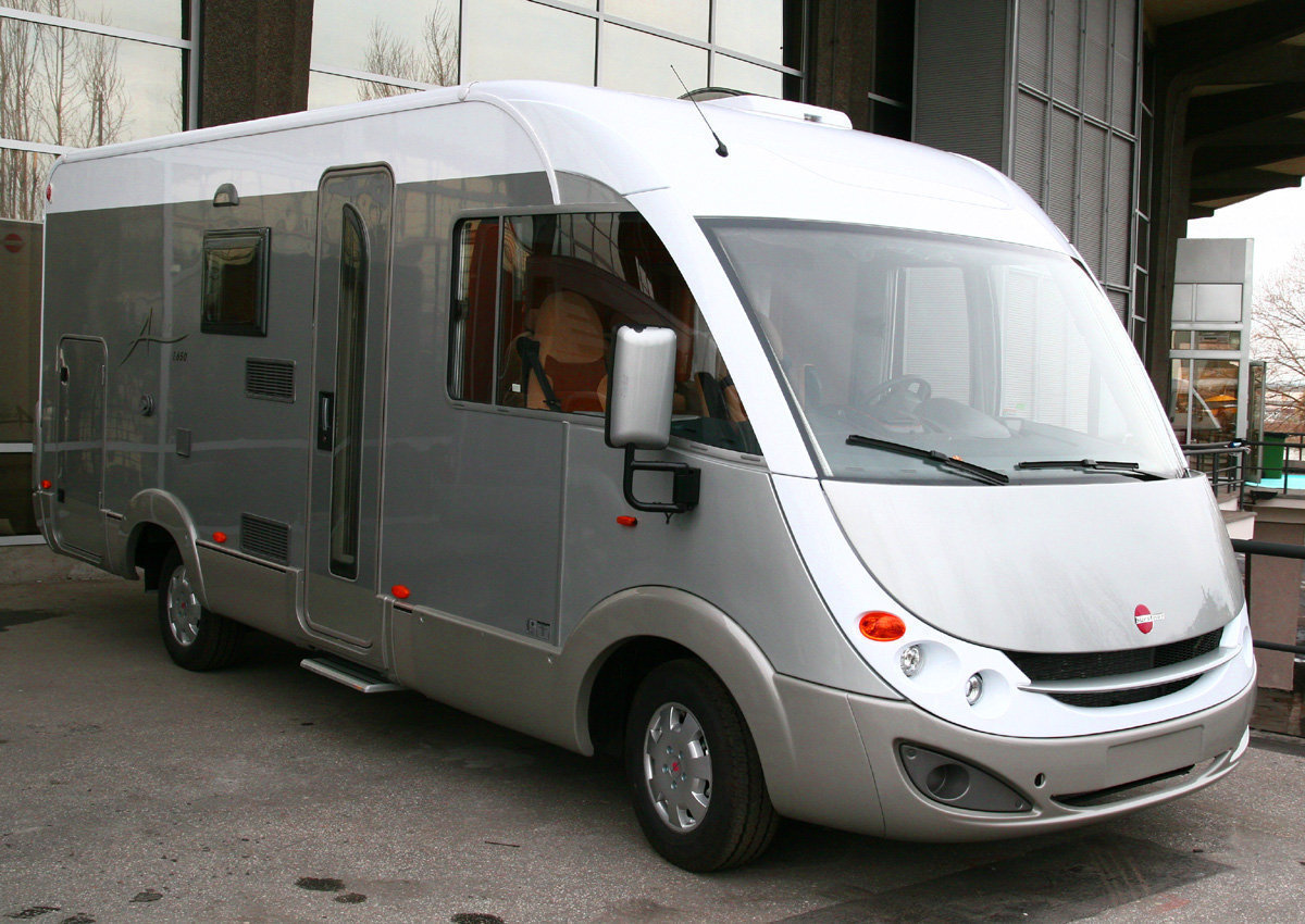 Burstner Mercedes basis motor home