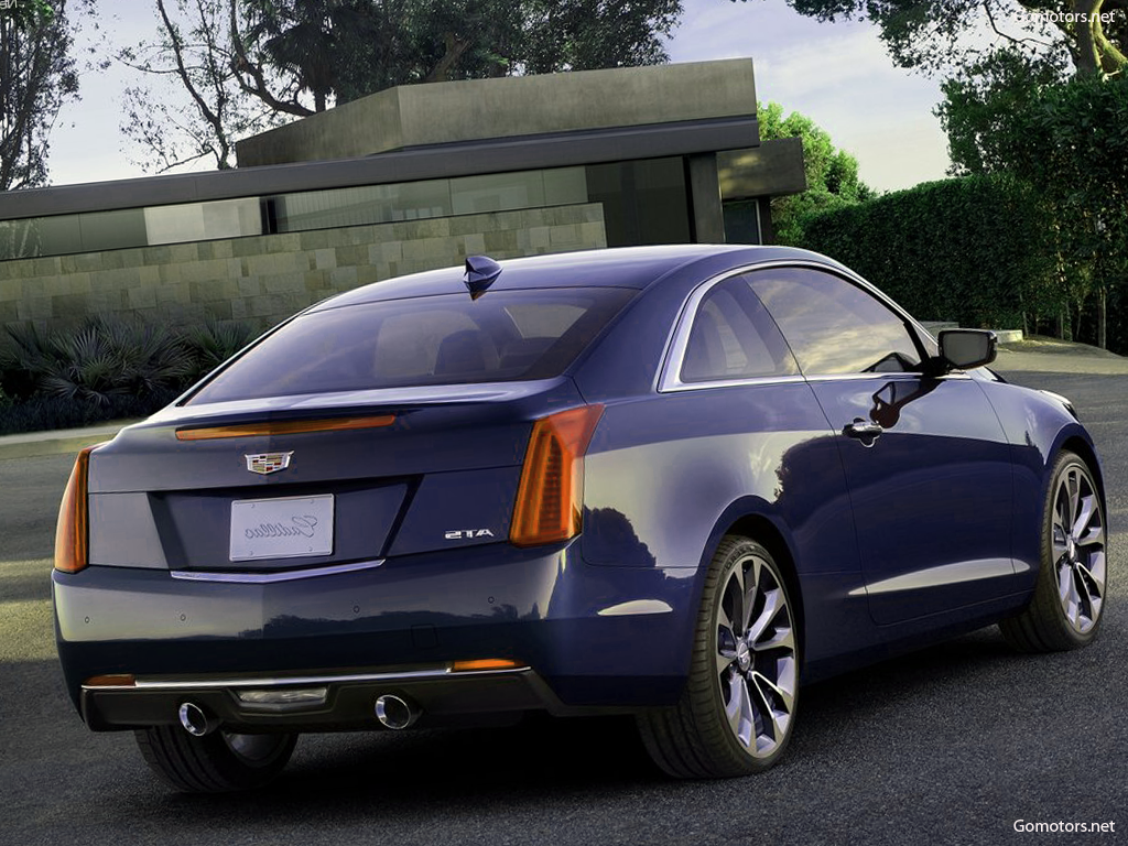 2015 cadillac ats coupe photos reviews news specs buy car. Black Bedroom Furniture Sets. Home Design Ideas