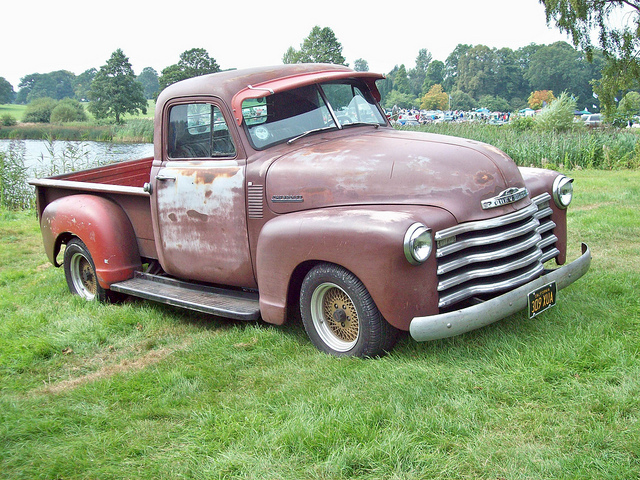 Chevrolet 1947 54 Pickup Picture 2 Reviews News Specs Buy Car