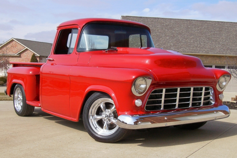 Chevrolet 1955 Pickup:picture # 3 , reviews, news, specs
