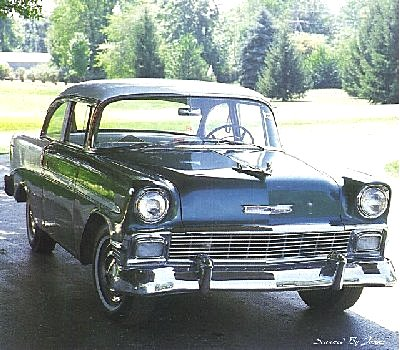Chevrolet Bel Air 2-dr Sedan