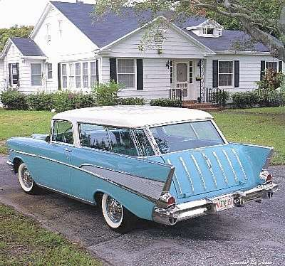 Chevrolet Bel Air 250 Wagon