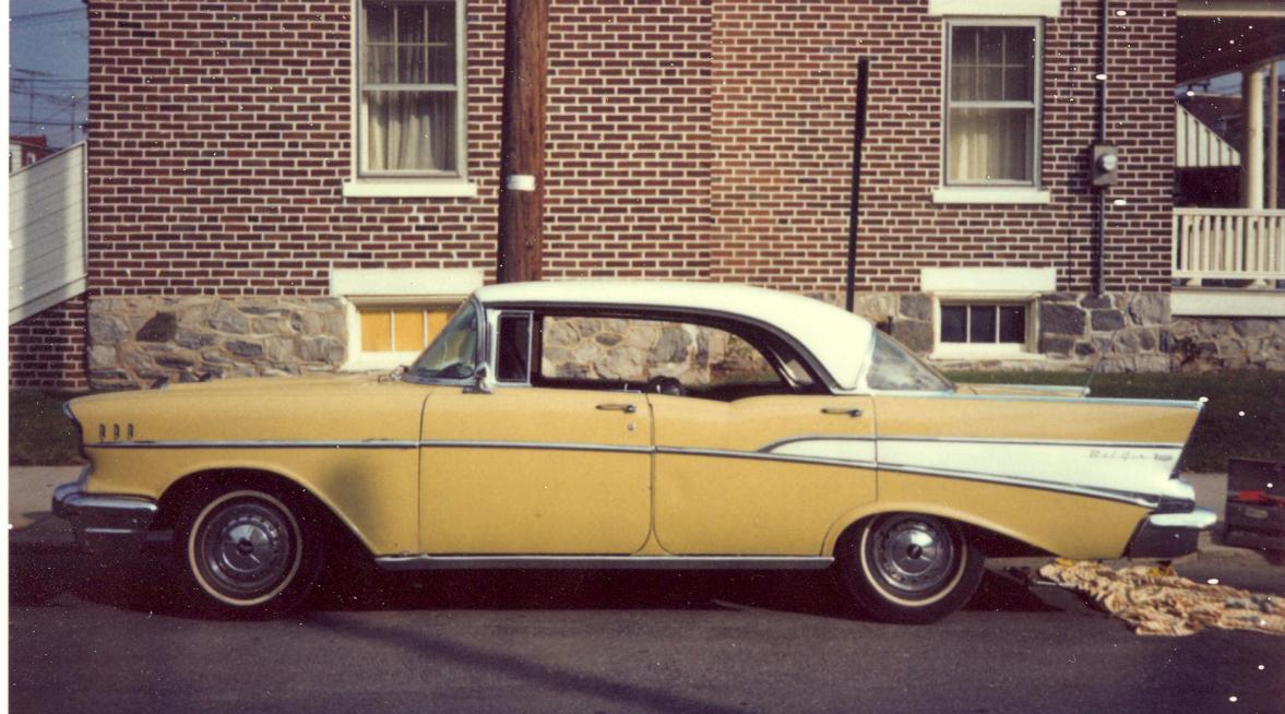 Chevrolet bel air 4 dr ht photos reviews news specs for 1957 chevy bel air 4 door hardtop for sale