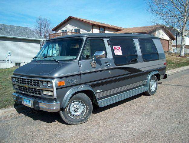 Chevrolet Chevyvan 20 conversion