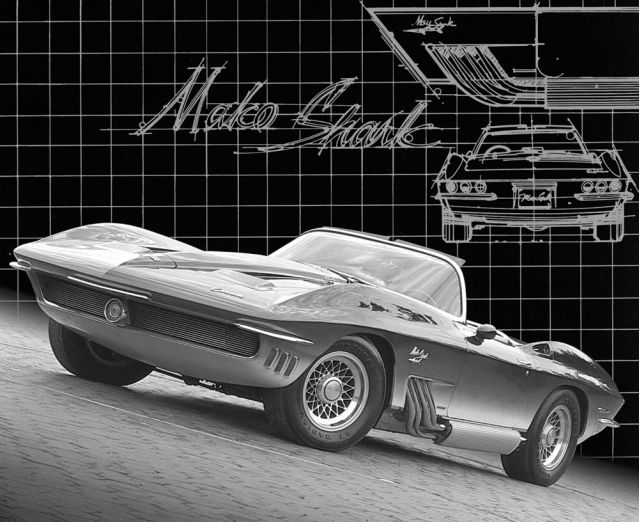 Chevrolet Mako Shark concept car