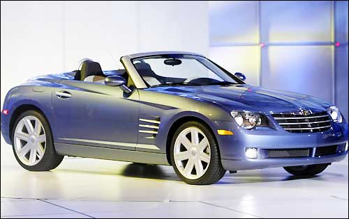 Chrysler Crossfire Cabrio Picture 2 Reviews News Specs Buy Car