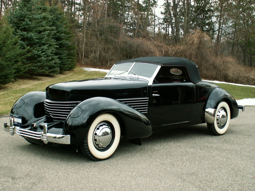 Cord Front Wheel Drive Roadster Photos Reviews News