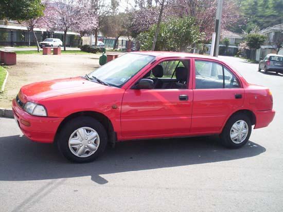 Daihatsu Charade Sedan Sg 1991 Car Pictures