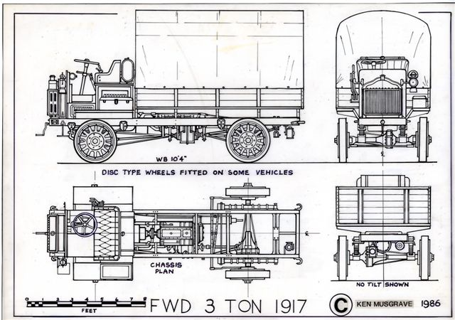 FWD Model B 4 Wheel Drive Truck:picture # 3 , reviews