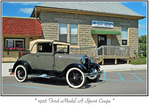 Ford A Sport Coupe