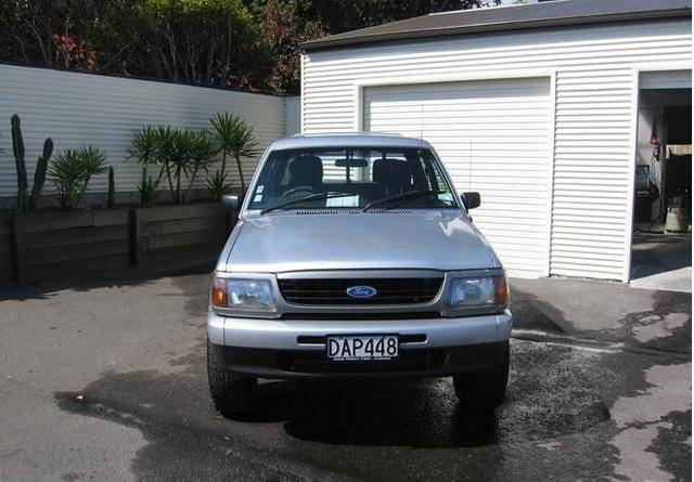 Ford Courier XLT Wellside 4x4:picture # 2 , reviews, news, specs ...