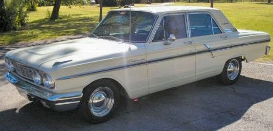 Ford Fairlane 500 4dr