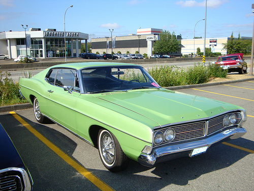 Ford Galaxie 500 Sport Roof