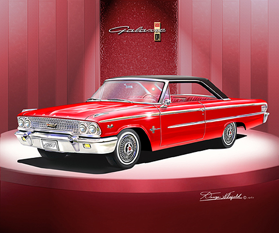 Ford Galaxie Starliner coupe