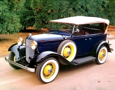 Ford Model A phaeton