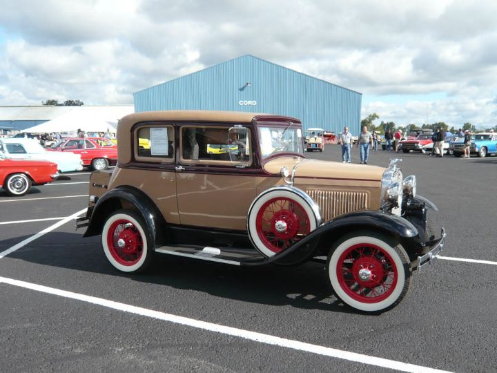 Ford Model A victoria coupe