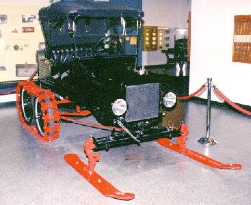 Ford Model T snow machine conversion