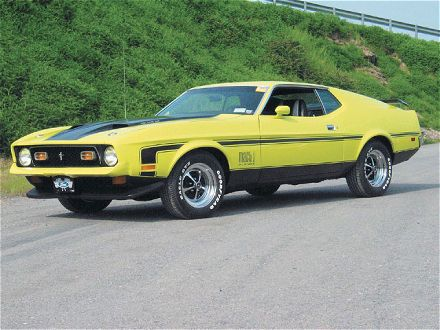 Ford Mustang Mach 1 Boss 351