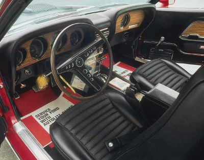 Ford mustang mach 1 cobra jet photos reviews news for Jet cars review