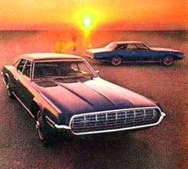 Ford Thunderbird Landau coupe