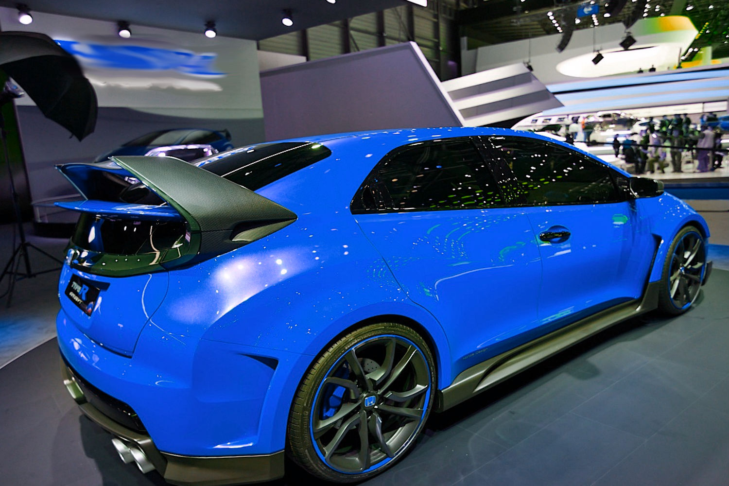 honda civic type r concept 2014 photos reviews news. Black Bedroom Furniture Sets. Home Design Ideas